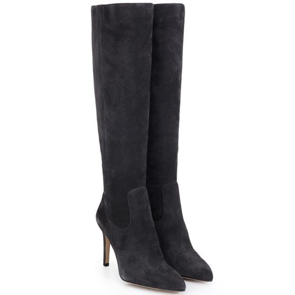 3c65f93457604 NEW Sam Edelman Olencia Asphalt Gray Suede Boots